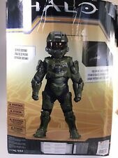 Disguise Master Chief Ultra Halo Microsoft Costume Large 10-12 (Cracked Helmet)
