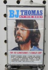 B.J. Thomas At His Best-I'm so Lonesome I could cry,  Cassette Tape