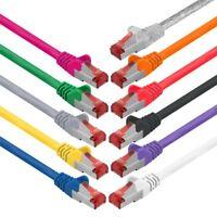 CAT6 DSL Patchkabel Netzwerkkabel Netzwerk LAN Kabel SFTP geschirmt RJ45 Stecker