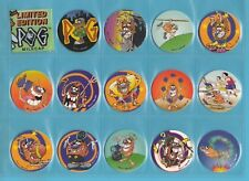 POGS  -  GOLDEN  WONDER  -  14  DIFFERENT  LIMITED  EDITION  POGS  -  1996