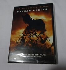 Batman Begins Two Disc Deluxe Edition Dvd T1