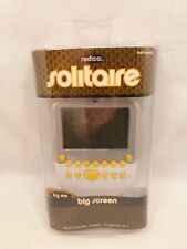 New Radica Big Screen Solitaire Electronic Handheld Game Backlit JL13