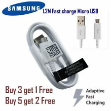 Genuine SAMSUNG 1.2M Micro USB 2.0 Data n SYC Cable for Galaxy S6, S7 Note 4 5