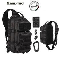 f134e4d696 Zaino Mil-tec Monospalla Incursore Tactical Black Backpack US Assault 29  Litri