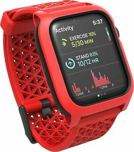 Catalyst - Impact Protection Case for Apple Watch® 44mm - Red