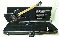 "BC Rich MOCKINGBIRD Guitar & Hard CASE ""NEW"" Special Edition EVIL EDGE NOS SALE"