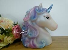 More details for unicorn lamp 'light of the rainbow' night light figurine ornament gorgeous!