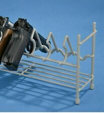 Rack 7 Pistol Gun Stacking Handgun Revolver Safe Storage Stand Display Holder