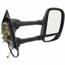 BLACK F250 F350 Super Duty 2007 - 1999 OE Power PASSENGER SIDE Mirror Dual Glass