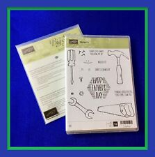 Stampin' Up! NAILED IT Stamps & BUILD IT Framelits Dies ***NEW***