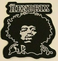 """Jimi Hendrix Patch~Embroidered Applique~3 1/2"""" x 3 3/8""""~Iron or Sew on"""