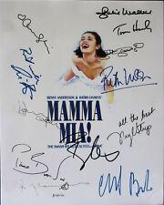 Mama Mia  Autograph Reprint Meryl Streep Amanda Seyfried Christine Baranski +9