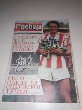 RS Belgrade vs PAOK Greece Football Programme Magazine Cup UEFA
