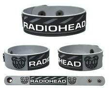 RADIOHEAD Rubber Bracelet Wristband Pablo Honey  The Bends OK Computer