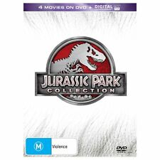 Jurassic Park Collection DVD box set The lost world 1 2 3 4 R4 Jurassic World