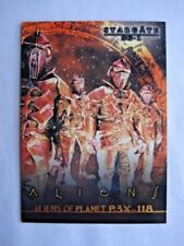 Stargate 2000s Sci-Fi Collectable Trading Cards