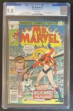 Ms. Marvel #7 CGC 9.8 W 1977 Sharp Copy!