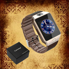 Cawono Gold DZ09 Smart Bluetooth Watch TXT Camera Call for Android Samsung IOS