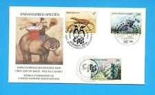 UNITED NATIONS UN - FDC - 1993  Endangered Species