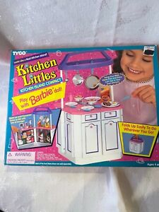 Tyco Kitchen Littles Kitchen Island Compact, for Barbie, RARE, NIB 1995