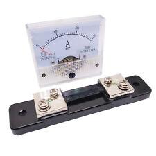 Us Stock Analog Panel Amp Current Ammeter Meter Gauge 85c1 0 30a Dc Amp Shunt