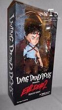 Ldd living dead dolls Presents * Ash * Evil Dead 2 sealed box