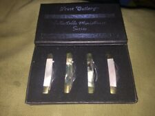 frost cutlery collectible miniatures 4 knives in box unused