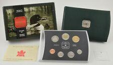 2002 Canada 7 Coin Specimen Set - Loon - Original Packaging & COA *482