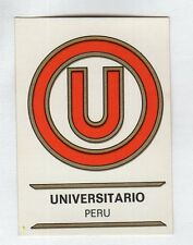 figurina PANINI FOOTBALL CLUBS NUMERO 225 UNIVERSITARIO