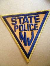 Patches: NEW JERSEY STATE POLICE PATCH (NEW* apx. 11x11.5 cm)