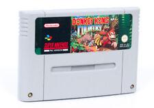 Donkey Kong Country - Super Nintendo SNES Retro Game Cartridge PAL