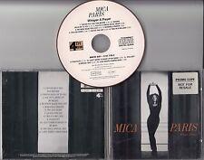 MICA PARIS Whisper A Prayer 1993 UK 12-track promo CD