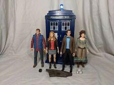 11th Doctor Who Custom Electronic FX TARDIS figure Set Bundle Character Options