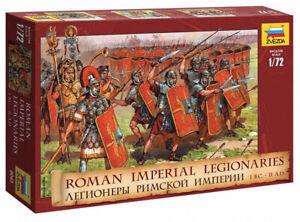 Roman Imperial Infantry I B.C. - II A.D.8043 ZVEZDA 1:72 New!