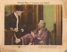 Original Lobby Card 1920 Nineteen and Phyllis Charles Ray Silent Film Era