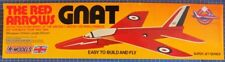 Gnat: The Red Arrows DPR Catapault launched Glider Balsa Wood Model Plane Kit