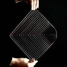 Square Wave Lunar Gold by Ivan Black made by Kinetrika Kinetic toy art
