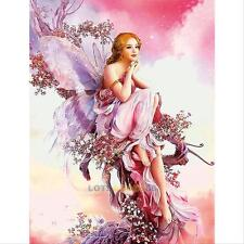 5D Fairy Butterfly DIY Diamond Embroidery Painting Cross Stitch Home Wall Decor