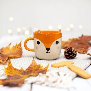 Sass & Belle Hiro Fox Mug Drink Tea Coffee Quirky Cute Animal Woodland