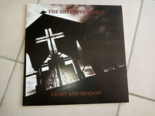 THE SISTERS OF MERCY Light & shadow LP Demos & alternative recording
