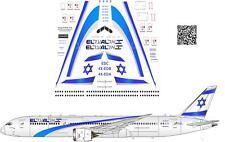 1/144 Boeing 787 EL AL decals