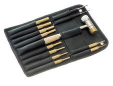 New 13pc Pin Punch Hammer Set - 10 Brass 2 Steel Gunsmith Drift Pin Hand Tools