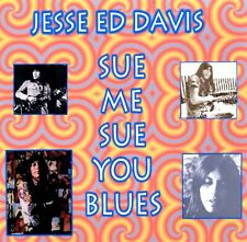 JESSE ED DAVIS-SUE ME,SUE YOU BLUES-RARE CD-SANTA MONICA'73-JOHN LENNON SESSIONS