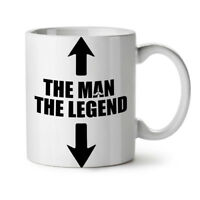 Legend Cool Joke Funny NEW White Tea Coffee Mug 11 oz | Wellcoda