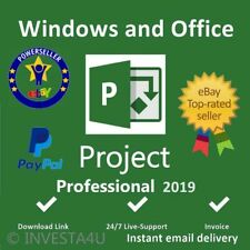 MS Project Professional 2019 Pro Key Life Time License Key & UPDATE