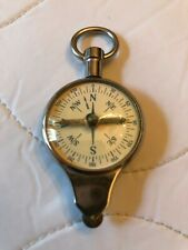 Vintage German Compass + Measurer Nautical Miles Inches To Miles
