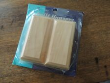 2 Wood Quilt Hangers Marbles Inside Routed Edge June Tailor New in Package