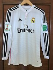 Real Madrid Ronaldo 2014 UEFA Club World Cup Adizero player version home jersey