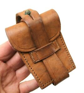 GENUINE ARGENTINA ARMY LEATHER AMMO POUCH