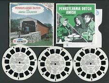 Sawyer's View-Master Packet #A633 PENNSYLVANIA DUTCH and AMISH COUNTRY Style S6b
